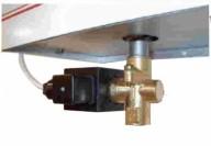 Комплект, включващ необходимите съоръжения за автоматизирано изпразване на съда на парогенератора след работа.