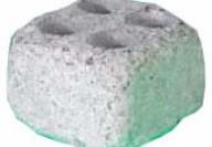 Камък със специален дизайн за употреба в сауна.