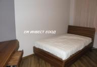 Легло от МДФ и естествен фурнир орех